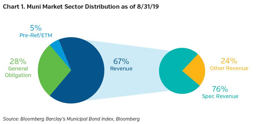 NEAM-Group-muni-market-sector-distribution-8-31-19